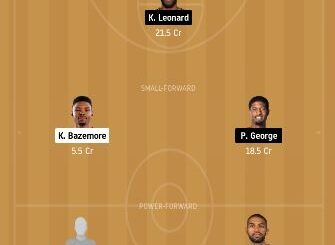 GSW vs LAC Dream11 Team