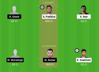 KAR vs TRP dream11 team fantasy cricket prediction