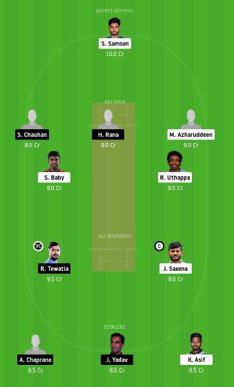 KER vs HAR dream11 team fantasy cricket prediction