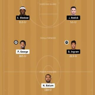 LAC vs NOP Dream11 Team fantasy Prediction
