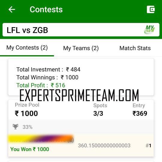 LFL-VS-ZGB-Dream11-Results-