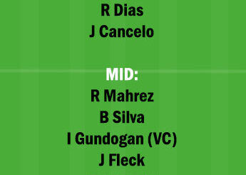 MCI vs SHF Dream11 Team fantasy Prediction Premier League
