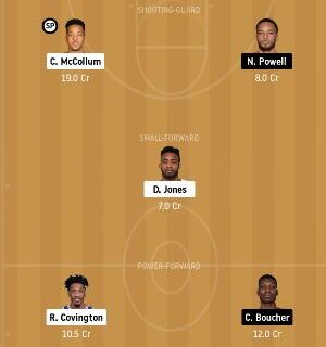 POR vs TOR Dream11 Team fantasy Prediction