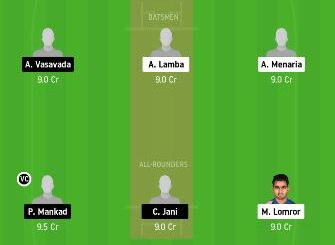 RJS vs SAU dream11 team fantasy cricket prediction