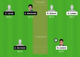 RJS vs VID Dream11 Team fantasy Prediction