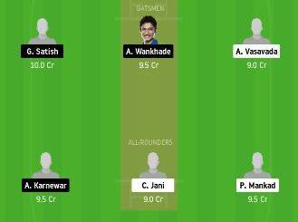 SAU vs VID dream11 team fantasy cricket prediction