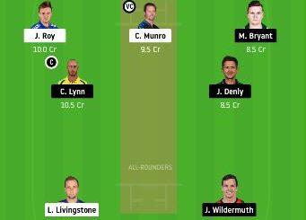 SCO vs HEA dream11 team fantasy cricket prediction - 44th Match Big Bash