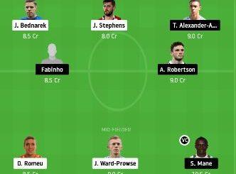 SOU vs LIV Dream11 Team fantasy Prediction