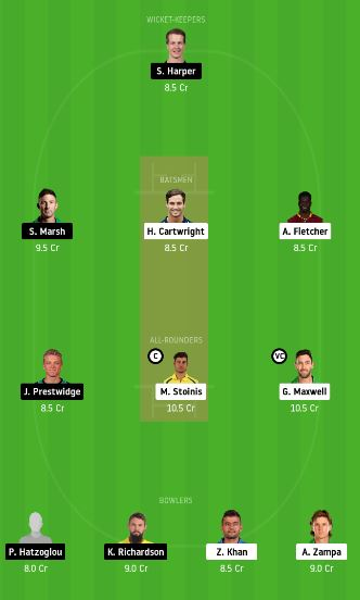 STA vs REN dream11 team fantasy cricket prediction