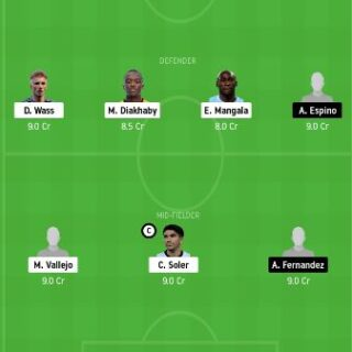 VAL vs CDZ Dream11 Team fantasy Prediction