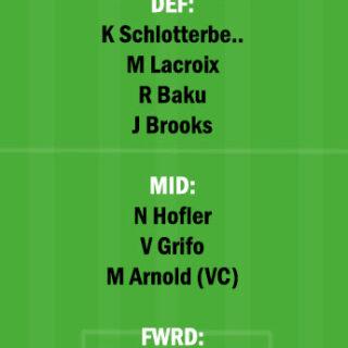 WOL vs FRB Dream11 Team fantasy Prediction