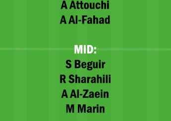 ABH vs RAE Dream11 Team fantasy Prediction Saudi Arabian League