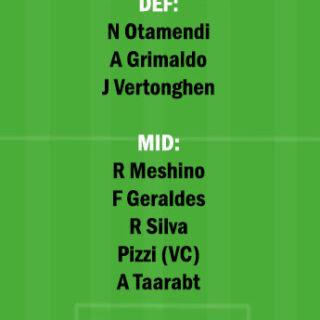 BEN vs RIO Dream11 Team fantasy Prediction Portuguese League