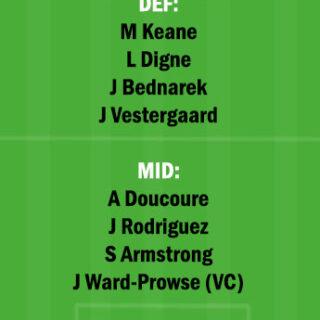 EVE vs SOU Dream11 Team fantasy Prediction Premier League