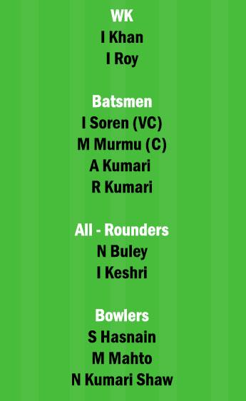 RAN-W vs BOK-W Dream11 Team fantasy Prediction Jharkhand Womens T20RAN-W vs BOK-W Dream11 Team fantasy Prediction Jharkhand Womens T20