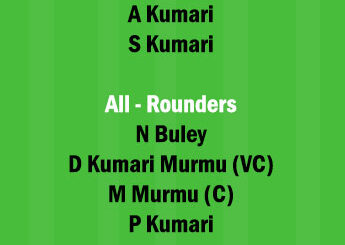 RAN-W vs JAM-W Dream11 Team fantasy Prediction Jharkhand Womens T20