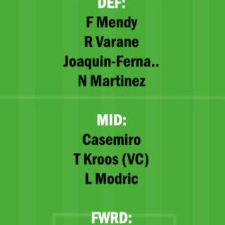 VLD vs RM Dream11 Team fantasy Prediction LaLiga Santander