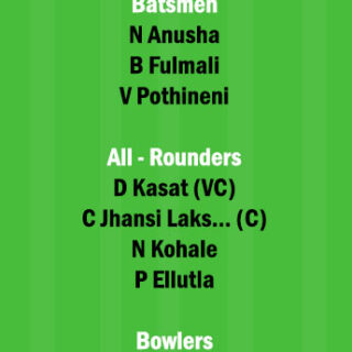 AND-W vs VID-W Dream11 Team fantasy Prediction 3rd quarter final