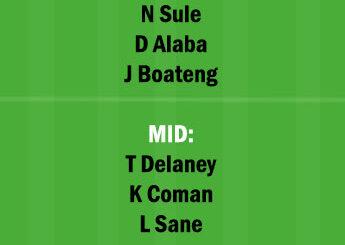 BAY vs DOR Dream11 Team fantasy Prediction Bundesliga