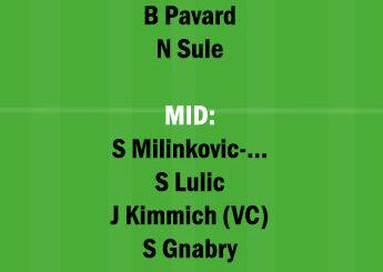 BAY vs LAZ Dream11 Team fantasy Prediction Champions League