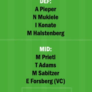 BIE vs LEP Dream11 Team fantasy Prediction Bundesliga
