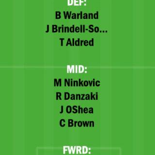 BRB vs SYD Dream11 Team fantasy Prediction A League