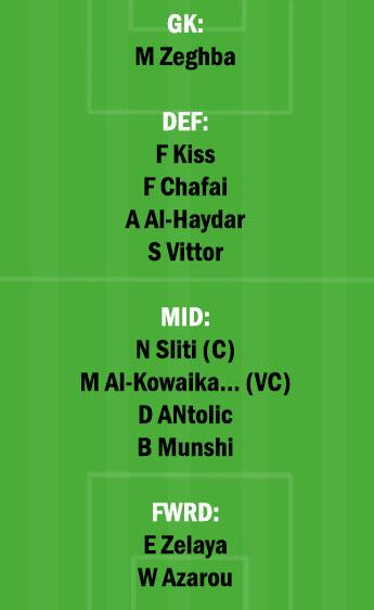 DAM vs ETT Dream11 Team fantasy Prediction Saudi Arabian League