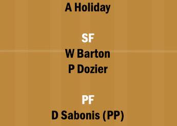 DEN vs IND Dream11 Team fantasy Prediction NBA