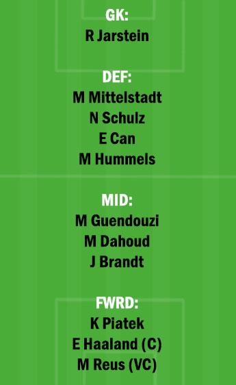 DOR vs HER Dream11 Team fantasy Prediction Bundesliga