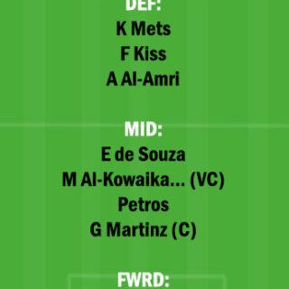 ETT vs NSSR Dream11 Team fantasy Prediction Saudi Arabian League