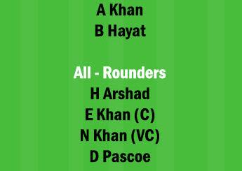 HKI vs KOL 1st ODI Match Dream11 Team fantasy Prediction HK All Star ODD