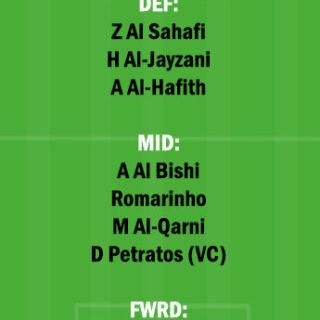 ITT vs WAH Dream11 Team fantasy Prediction Saudi Arabian League