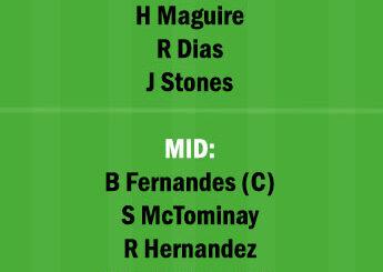 MCI vs MUN Dream11 Team fantasy Prediction Premier League