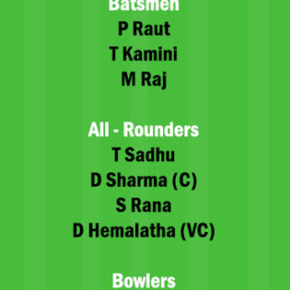 RAI-W vs BEN-W Dream11 Team fantasy Prediction 2nd Semi Final