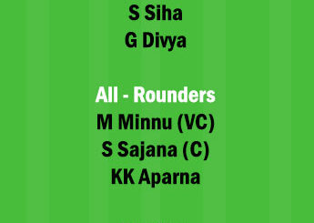 SAP vs EME Dream11 Team fantasy Prediction Kerala Womens T20