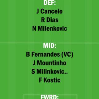 SER vs POR Dream11 Team fantasy Prediction World Cup Qualifiers