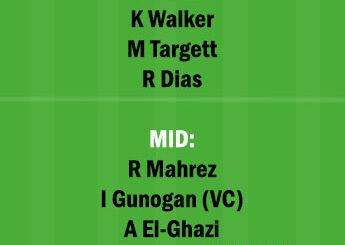 AVL vs MCI Dream11 Team fantasy Prediction Premier League