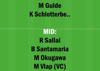 BIE vs FRB Dream11 Team fantasy Prediction Bundesliga