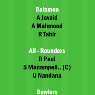BOG vs BU 14th Match Dream11 Team fantasy Prediction