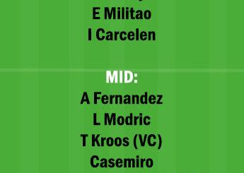 CDZ vs RM Dream11 Team fantasy Prediction LaLiga Santander