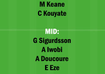 EVE vs CRY Dream11 Team fantasy Prediction Premier League