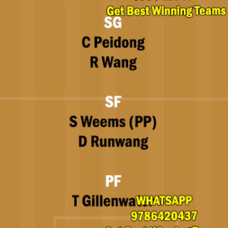 GST vs SH Dream11 Team fantasy Prediction CBA League
