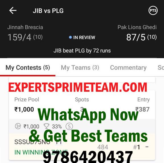 JIB-VS-PLG-Dream11-Results-