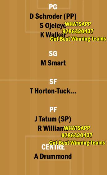 LAL vs BOS Dream11 Team fantasy Prediction NBA