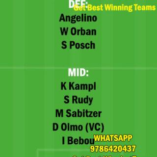 LEP vs HOF Dream11 Team fantasy Prediction Bundesliga