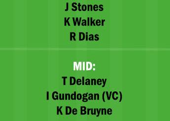 MCI vs DOR Dream11 Team fantasy Prediction Champions League