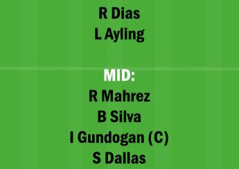 MCI vs LU Dream11 Team fantasy Prediction Premier League