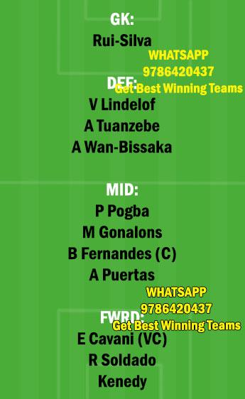 MUN vs GRD Dream11 Team fantasy Prediction Europa League