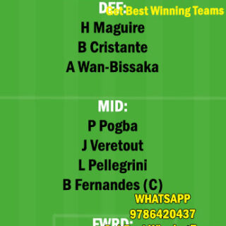 MUN vs ROM Dream11 Team fantasy Prediction Europa League
