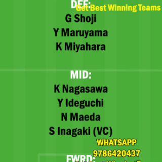 NGY vs OSK Dream11 Team fantasy Prediction Japanese League (2)